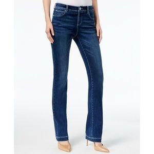 INC Petite Bootcut Tummy Control Jeans 12P